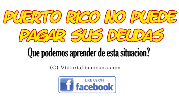 EDITADO Puerto Rico no puede pagar sus deudas